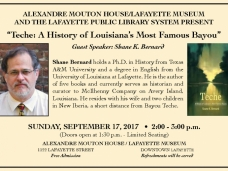 History of Bayou Teche