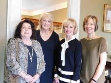 Claire Bohn, Leslie Hays Gladney, Melanie McKenzie and Susan Stephan.jpg